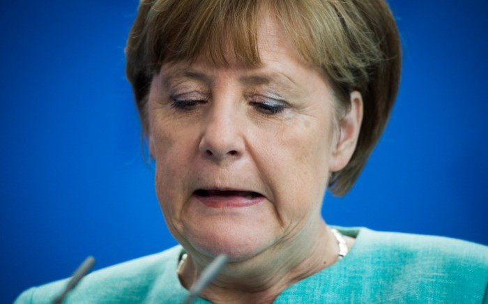 FILE: German Chancellor Angela Merkel on 30 June 2015. Picture: AFP.