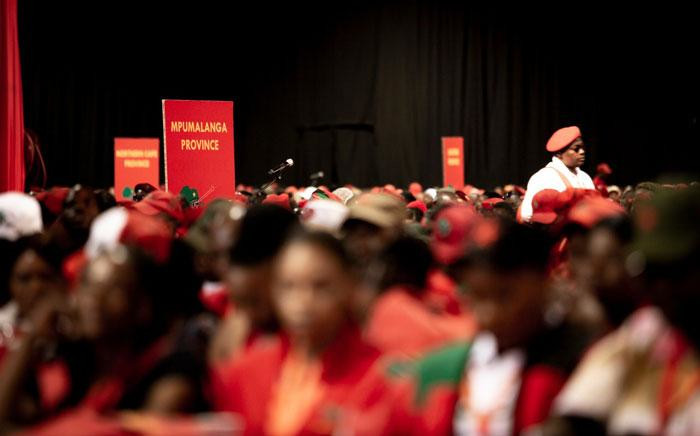 FILE: An EFF conference at Nasrec in Soweto. Picture: Sethembiso Zulu/Eyewitness News