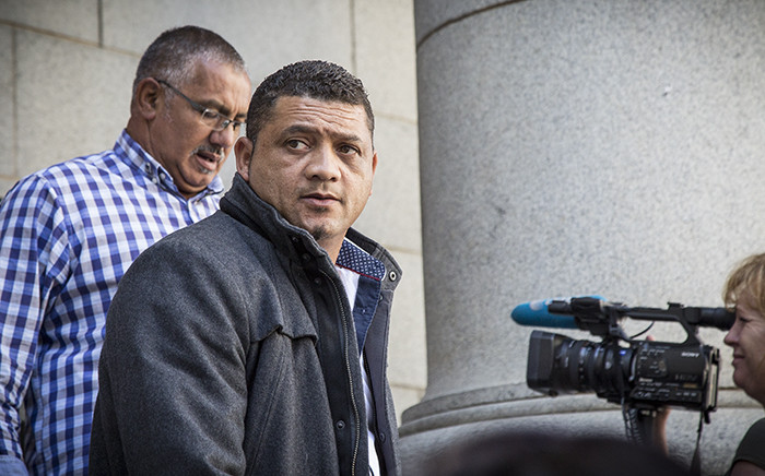 FILE: Zephany Nurse's father Morne leaves the Western Cape High Court. Picture: Thomas Holder/EWN