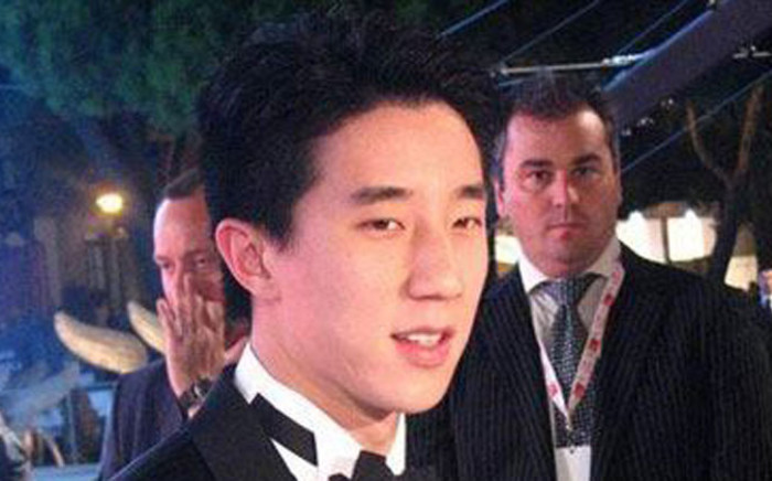 Chinese actor, singer and socialite Jaycee. Picture: Facebook.