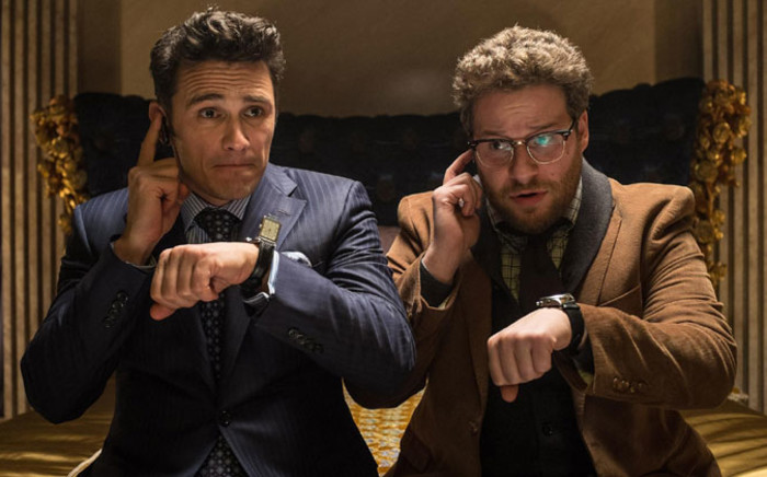 """James Franco and Seth Rogen in the movie, """"The Interview"""". Sony has cancelled the release of the movie. Picture: The Interview Official Facebook page."""
