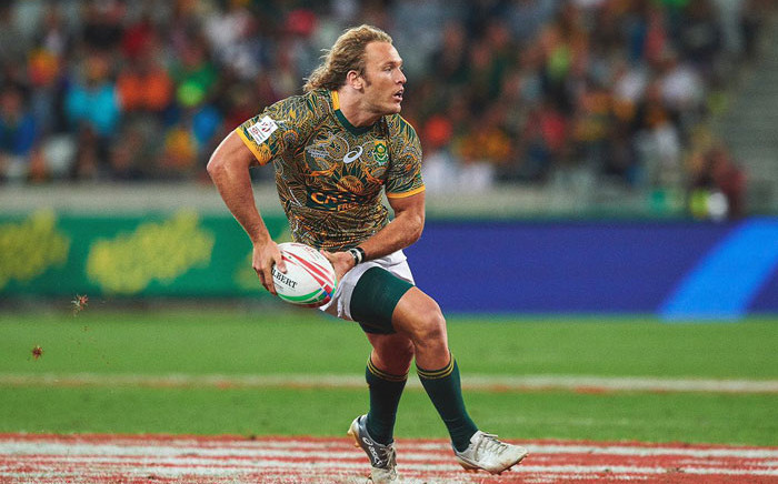 Werner Kok in action for the Blitzboks. Picture: @wernerkok1/Twitter
