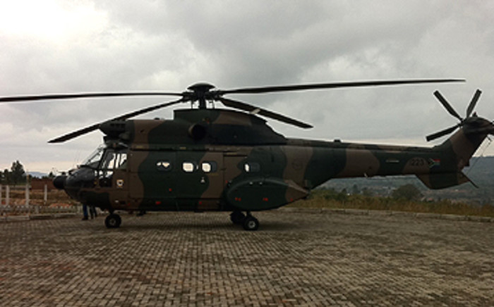 The chopper was on a scheduled aerial patrol of the Kruger National Park.