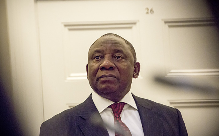South African Vice President Cyril Ramaphosa. Picture: Thomas Holder/EWN.