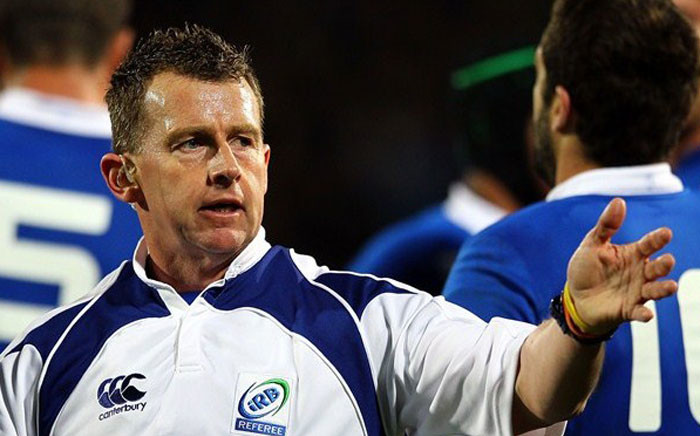 FILE: Welsh international rugby union referee Nigel Owens at the 2015 IRB RWC. Picture: Rugbyworldcup.com