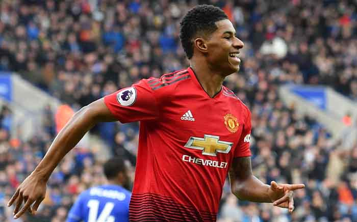 FILE: Manchester United's English striker Marcus Rashford. Picture: AFP.