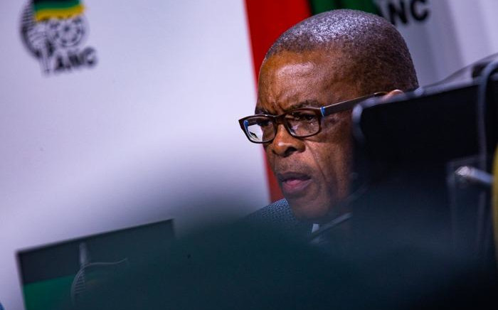FILE: ANC secretary-general Ace Magashule at the post-NEC media briefing on Tuesday, 30 July 2019, at Luthuli House. Picture: Kayleen Morgan/EWN