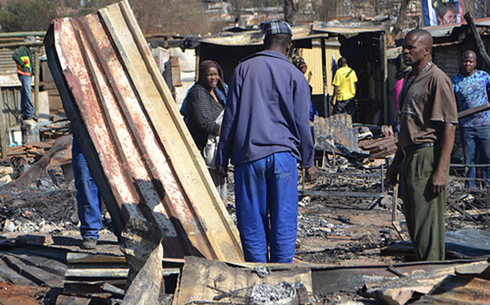 FILE: The municipality demolished the homes in extension 11 last month without following the law. Picture: EWN.