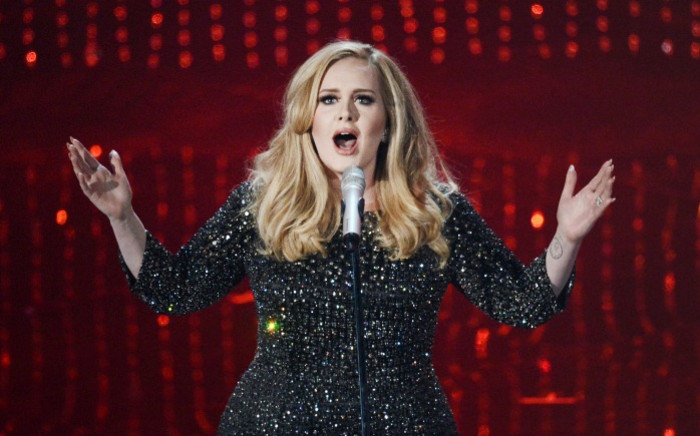 FILE: Adele. Picture: Getty Images/AFP.