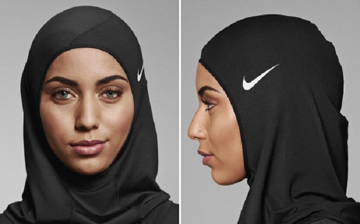 Nike has launched a new hijab for female athletes. Picture: Instagram.