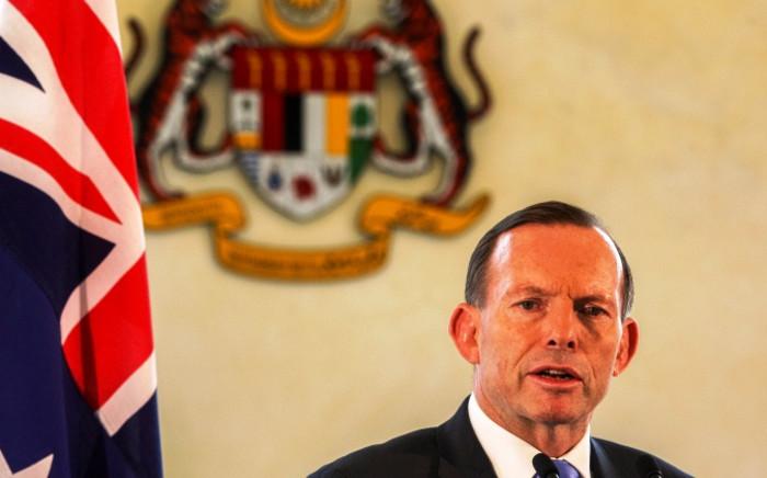 Australian Prime Minister Tony Abbott. Picture: EPA/AZHAR RAHIM.