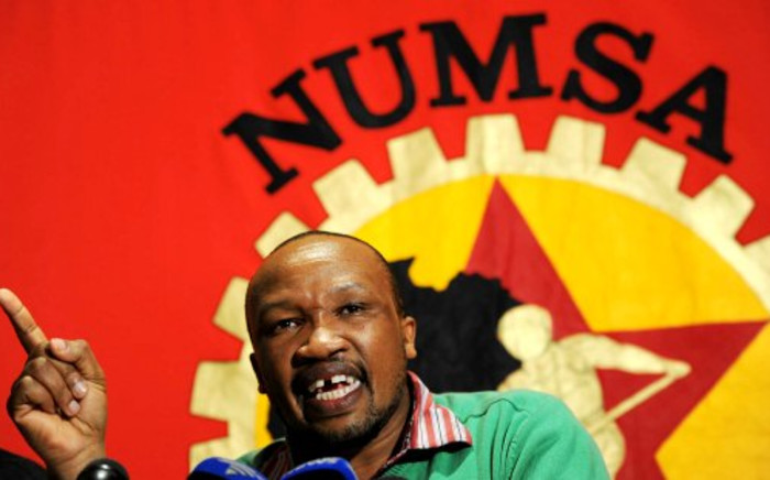 FILE IMAGE. National Union of Metalworkers of South Africa (Numsa) General Secretary Irvin Jim. Picture:Sapa