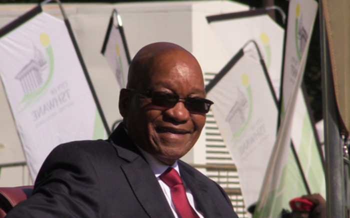 President Jacob Zuma in Parliament on 19 June 2014. Picture: GCIS