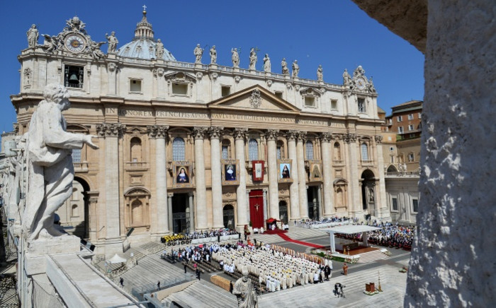 A general view of St Peter's Basilica in the Vatican City. Picture: AFP
