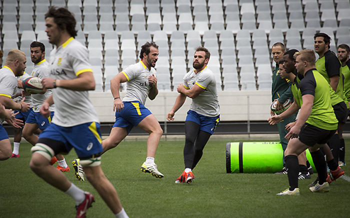 FILE: The national rugby team's first training session is on Tuesday.Picture: Aletta Gardner/EWN