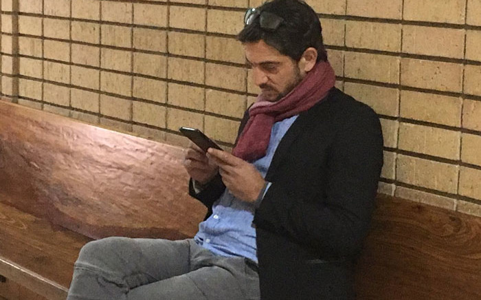 FILE: Adam Catzavelos sits in the Randburg Magistrate Court on 28 May 2019 ahead of his appearance for making racist remarks. Picture: EWN