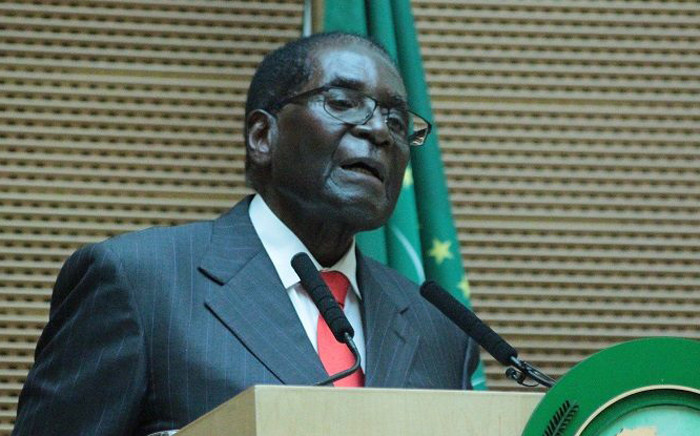 FILE: Zimbabwean President Robert Mugabe. Picture: African Union Facebook page.