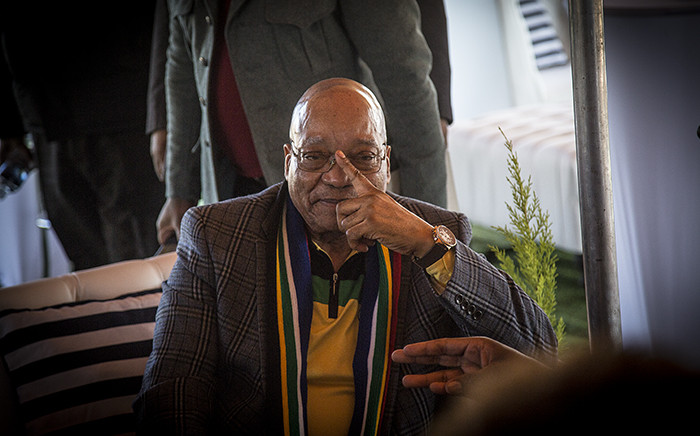 President Jacob Zuma visited Thembelihle south of Johannesburg during the ruling party's campaign trail on 30 June 2016. Picture: Reinart Toerien/EWN.