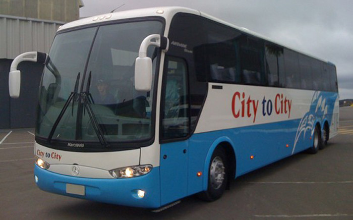 FILE: Still with passengers aboard, the buses were diverted to the Bloemfontein licensing department for further examination. Picture: Facebook.