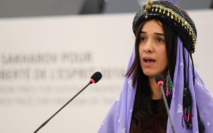FILE: Yazidi human rights activist Nadia Murad. Picture: AFP