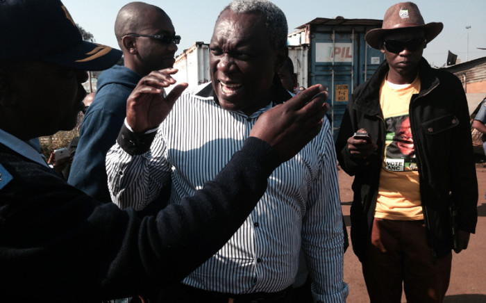 Siyabonga Cwele said Gugulethu residents shouldn't complain about a lack of services because most didn't vote. Picture: Sebabatso Mosamo/EWN
