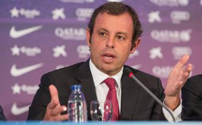 Barcelona president Sandro Rosell who resigned on 23 January 2014. Picture: Facebook.