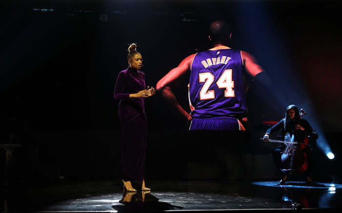 Artist Jennifer Hudson performs before the game during the 69th NBA All-Star Game on 16 February 2020 at the United Center in Chicago, Illinois. Picture: AFP