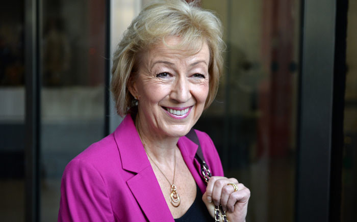 Andrea Leadsom. Picture: AFP.