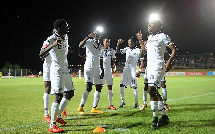 FILE: Bidvest Wits players celebrate during an Absa Premier Soccer League fixture. Picture: Bidvest Wits/Facebook.