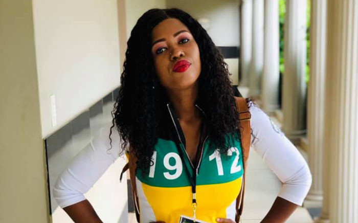 African National Congress Youth League (ANCYL) spokesperson Sizophila Mkhize.Picture: Facebook