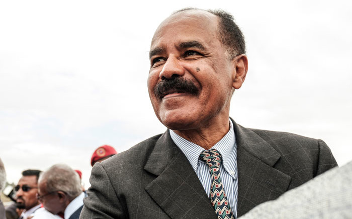 Eritrea's President Isaias Afwerki. Picture: AFP