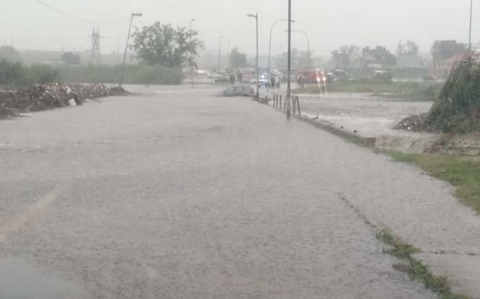 Flooding in Soweto on Saturday, 8 February 2020. Picture: @AsktheChief01/Twitter