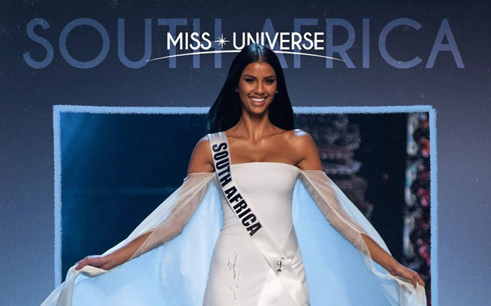 Miss South Africa Tamaryn Green. Picture: @MissUniverse/Twitter