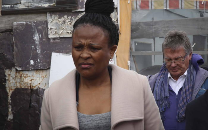 Advocate Busisiwe Mkhwebane visits Masiphumelele as part of the Public Protector Roadshow. Picture: Cindy Archillies/EWN