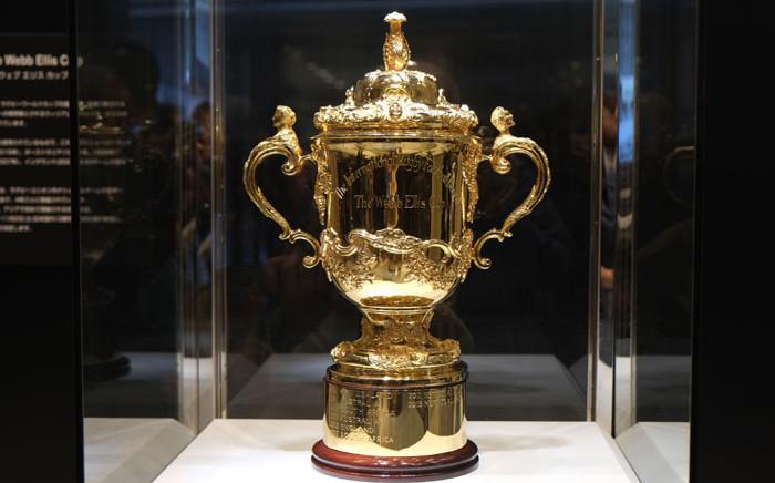 The Webb Ellis Cup. Picture: AFP
