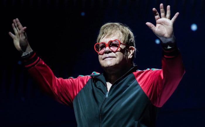 Elton John. Picture: @eltonofficial/Twitter