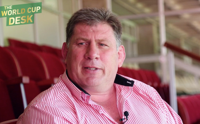 Lions Group chief executive officer Rudolf Straeuli. Picture: EWN