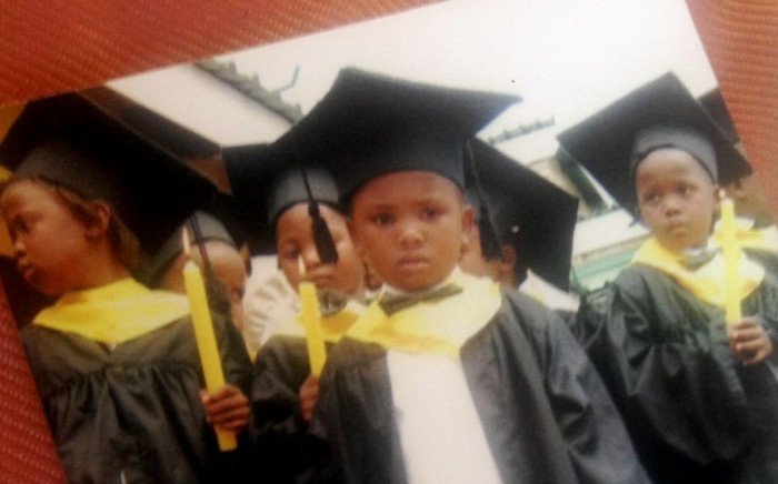A young Siphamandla Madikane photographed a few years before his death. The 10-year-old was murdered and possibly raped. His half burned body was found in Ramaphosa on 4 November. Picture: Supplied