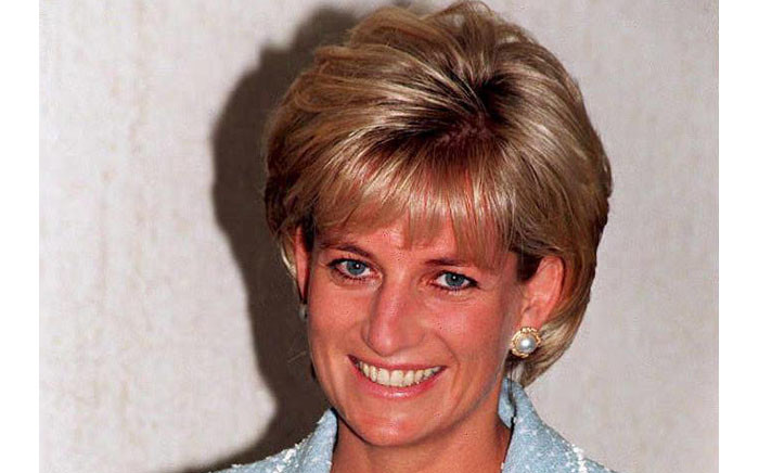 FILE: Diana, Princess of Wales, in central London on 21 April 1997. Picture: AFP.