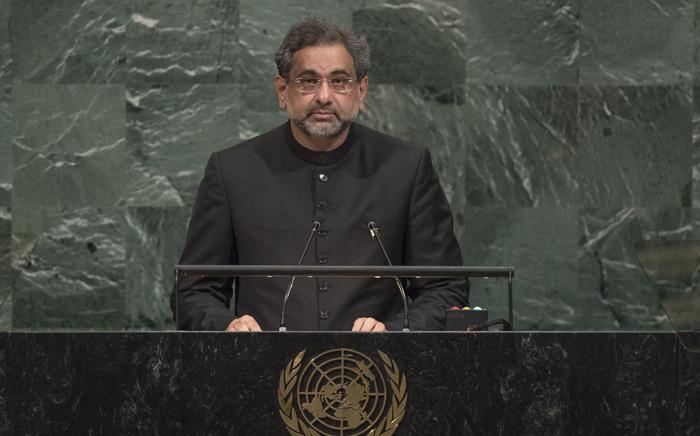 FILE: Pakistan Prime Minister Shahid Khaqan Abbasi. Picture: United Nations Photo.