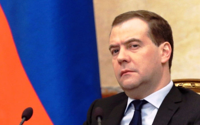 Russian Prime Minister Dmitry Medvedev. Picture:AFP.