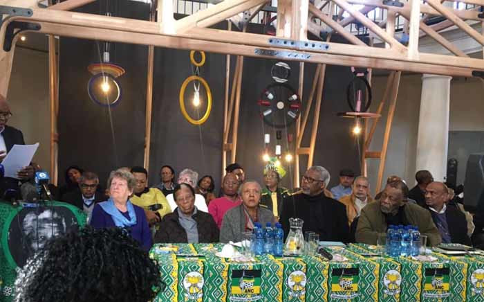 ANC stalwarts addressing the media on 29 June 2017 about the upcoming ANC national policy conference. Picture: Masa Kekana/EWN