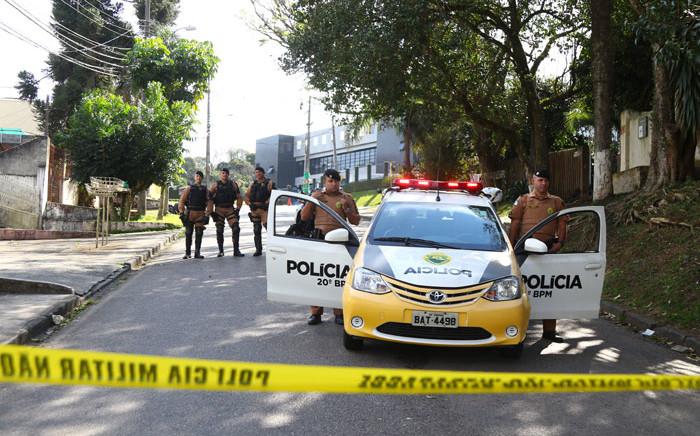 Brazilian police. Picture: AFP