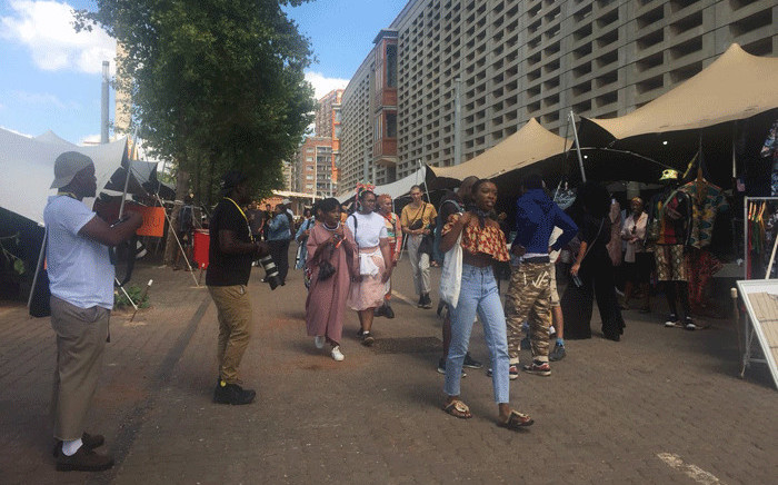 Fans stream in at the Constitutional Hill in Johannesburg for Afropunk music festival on 30 December 2017. Picture: Supplied.