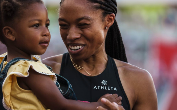 Allyson Felix makes her fifth Olympic team and her first as a mom. Picture: @CitiusMag/Twitter