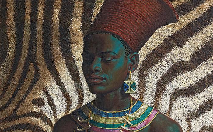 Vladimir Griegorovich Tretchikoff, Zulu Maiden. Picture: Strauss & Co.