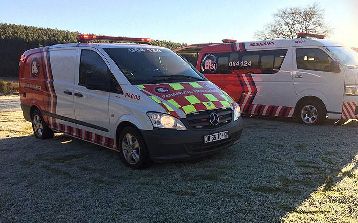 ER24 paramedics vehicles. Picture: ER24.