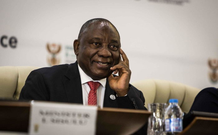 President Cyril Ramaphosa at the Heads of Mission Conference in Pretoria. Picture: Abigail Javier/EWN