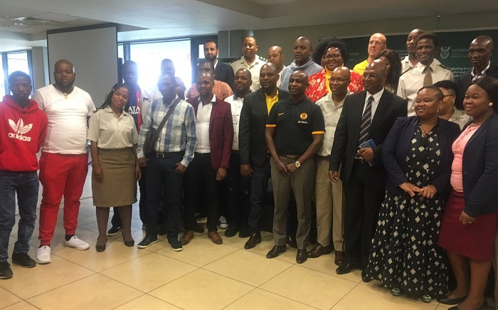 The victims have accepted the apologies at a victim-offender mediation facilitated by the Correctional Services Department at the Moses Mabhida Stadium in Durban on 29 October 2019. Picture: Nkosikhona Duma/EWN