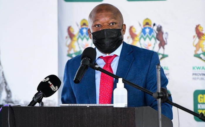 FILE: Premier Sihle Zikalala said a state of disaster under the Disaster Management Act should be declared.Picture: KZN Government.